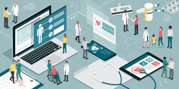Pharmaceutical industry and digital healthcar