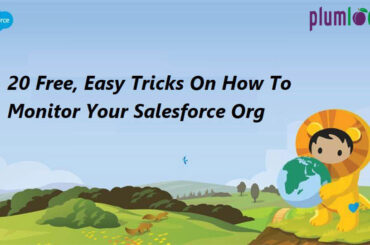 how to monitor salesforce org